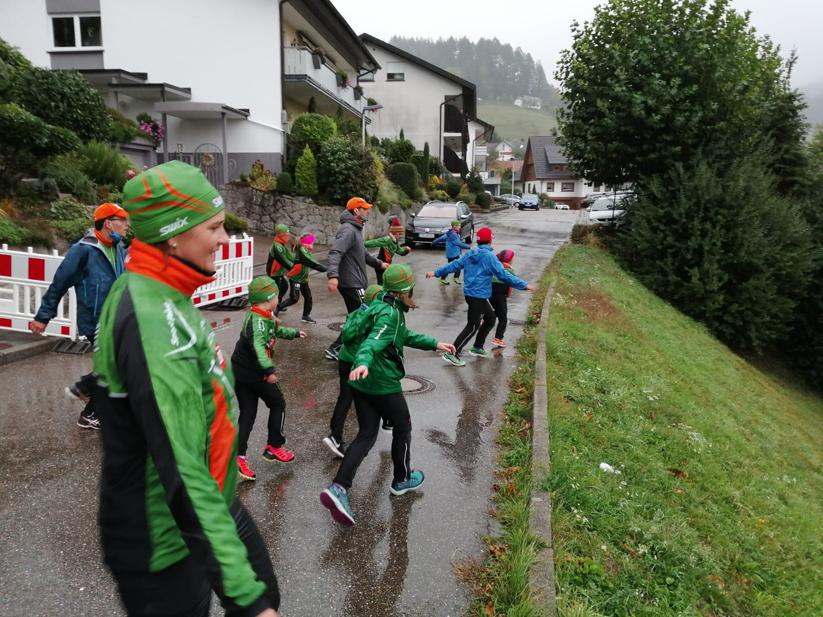 3. Oktober - Skiteam traditionell in Seebach am Start